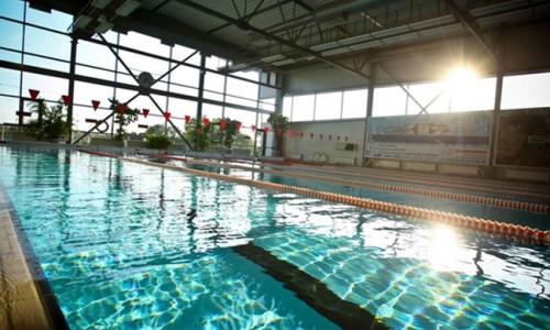 Fitness Center Swimming Pool Hotel Bergs